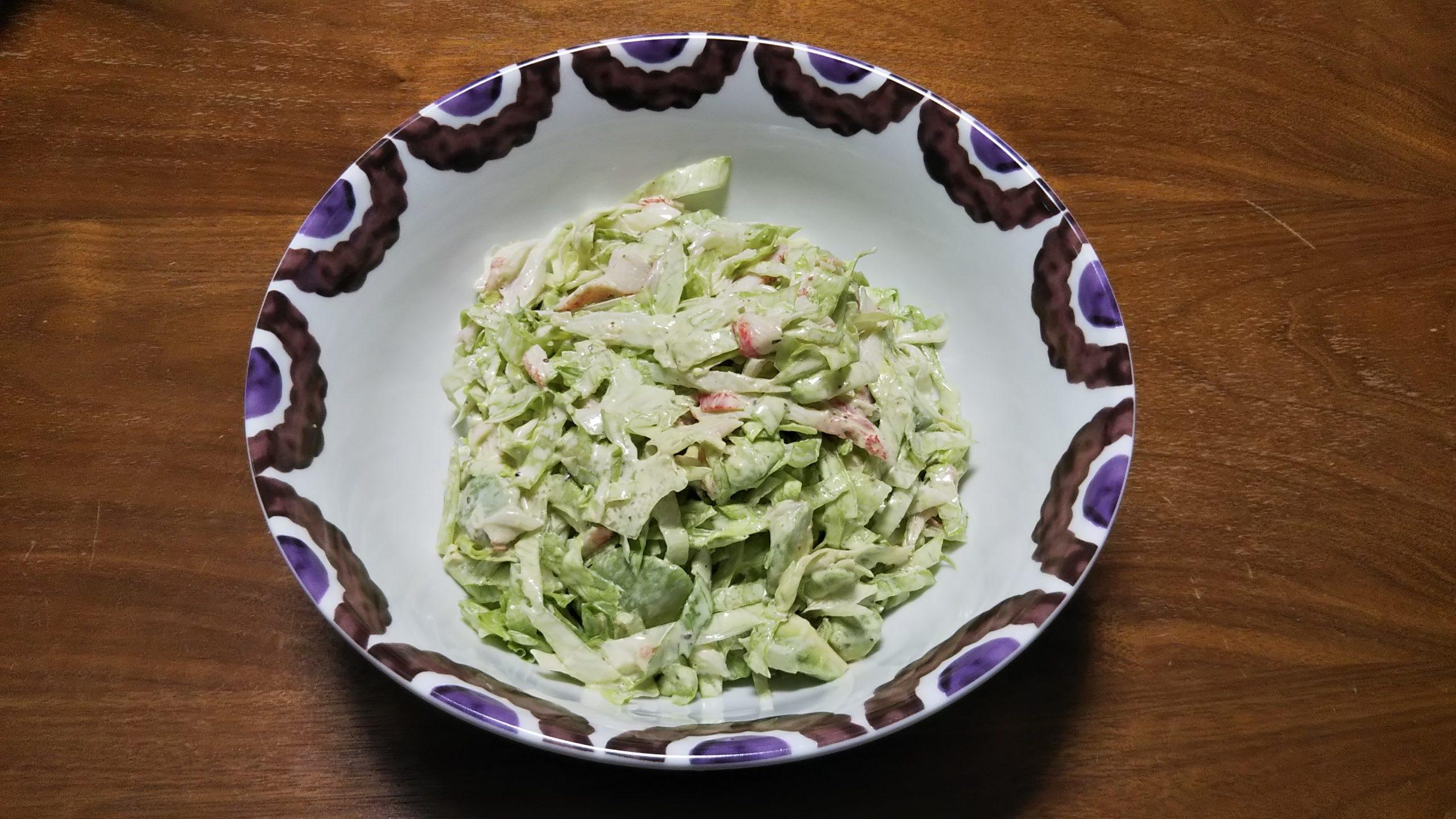 リチャードジノリのボウルとサラダ/Richard Ginori and salad