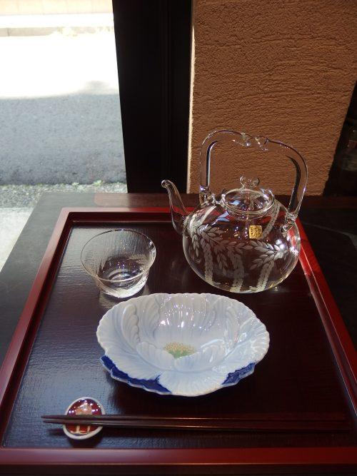 深川製磁 Fukagawa 江戸切子 バロンクラフト 冷酒器揃