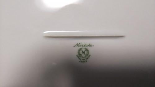 ノリタケ オーバルプレート
