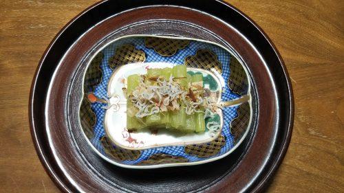 ふき 蕗 ふきの煮物