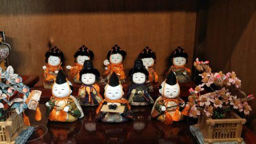 三盛竜光作 木目込雛人形十五人揃 ひな人形
