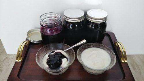 ブルーベリージャム/blueberry jam