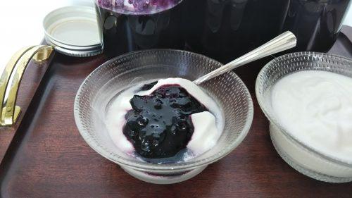 ブルーベリー  blueberry ジャム jam