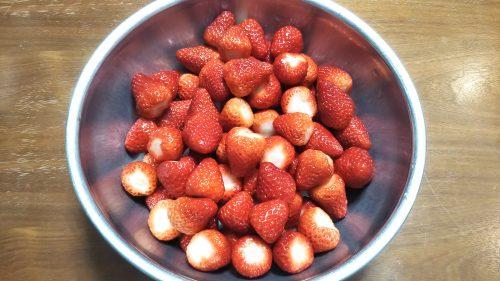 いちごジャム Strawberry jam
