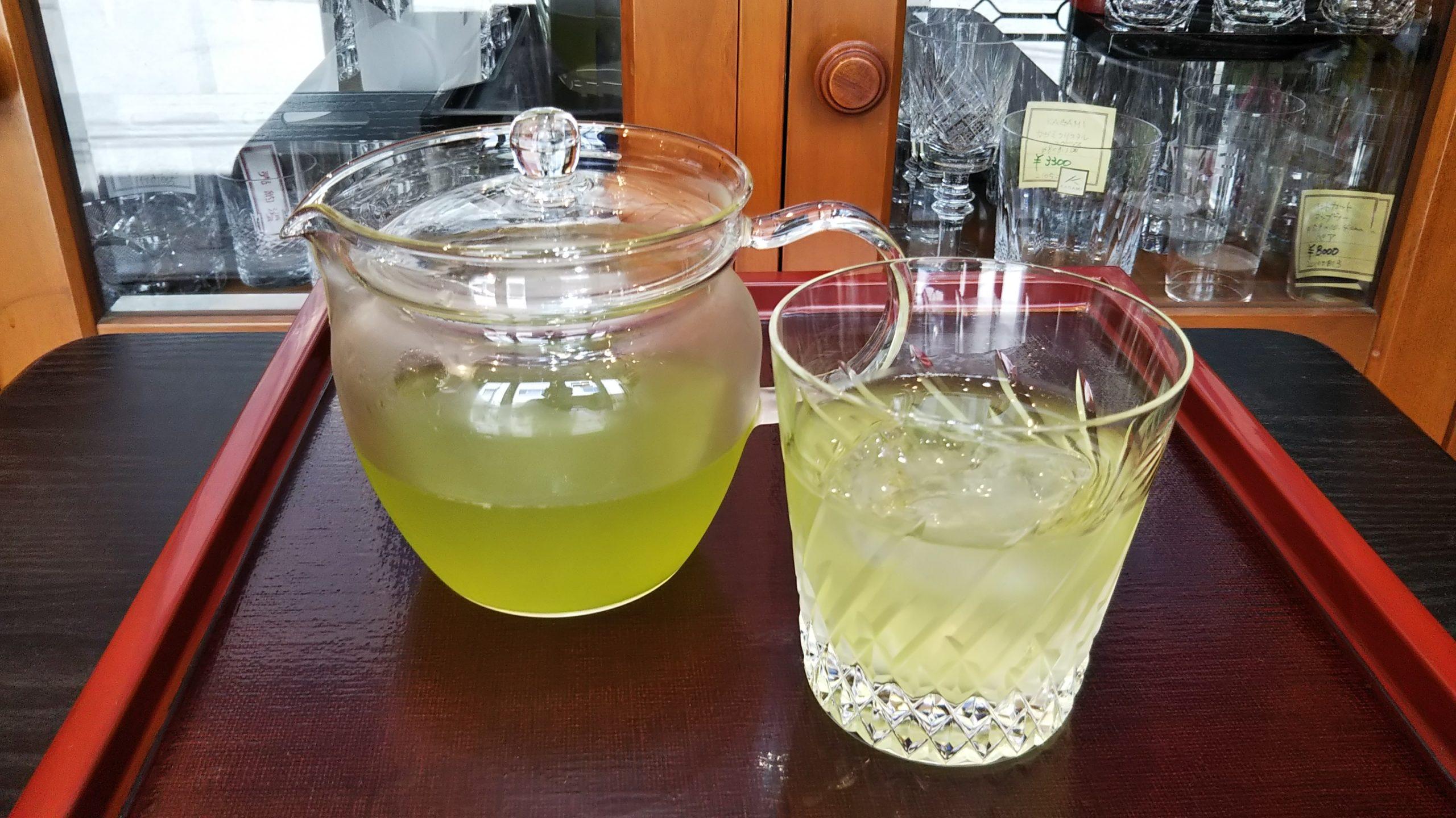 水出し緑茶 green tea